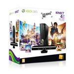 Console Xbox 360 4 Go Microsoft + capteur Kinect + Kinect Sports + Disneyland Kinect + Fable 3 + Kinect Adventure + 1 mois d?abonnement gratuit au Xbo